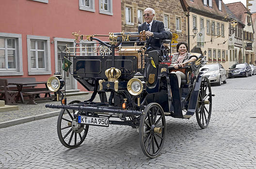 Horseless carriage Germany by David Davies