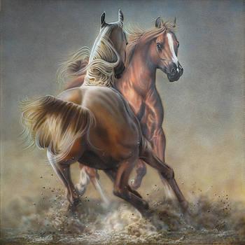 Horseplay by Wayne Pruse