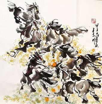 Horses in Ballet by Richard Xiaochuan Li