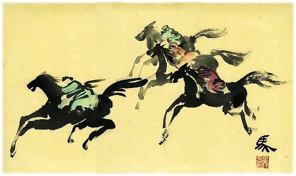 Horse Racing by Ping Yan