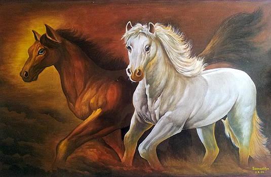Horses by Somaditya Das