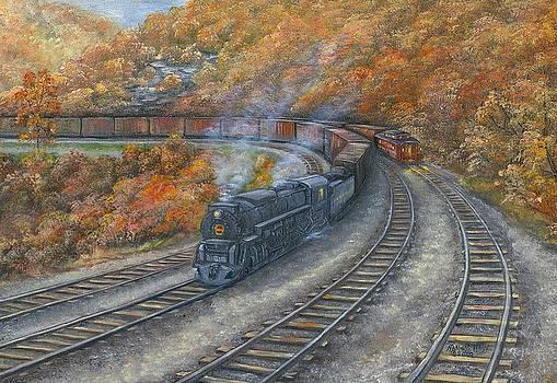 Horseshoe Autumn by Nancy Hagy