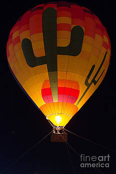 Hot air above Arizona by Patty Descalzi