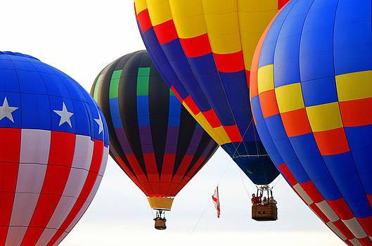 Hot Air Balloons by Judy Salcedo