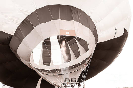 Hot Air in Black and White by Mark East