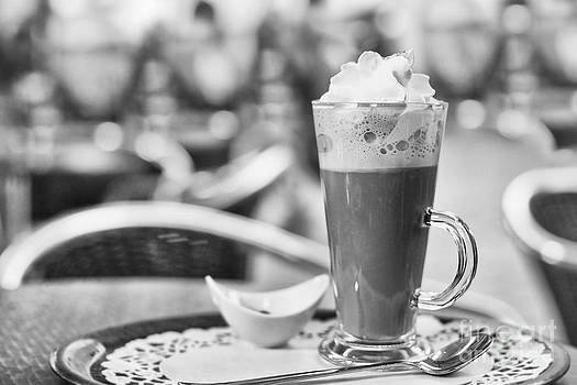 Hot chocolate with cream by Skyfish Images