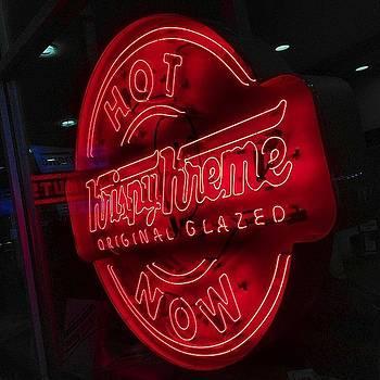 Hot! #doughnut #krispykreme by Dean Sauls