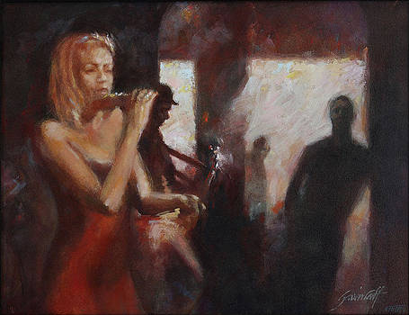 Hot Jazz Night GC498 by Gavin Calf