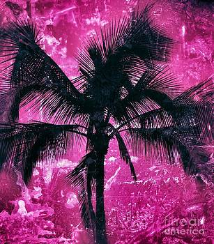 Hot Pink Palm by Lisa Cortez