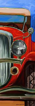 Kanayo Ede - Hot Rod - Red auto painting