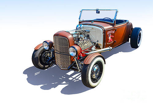 Hot Rod Convertible by Anthony Sell
