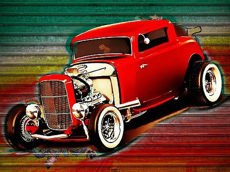 Hot Rod Ford Deuce Coupe by Kevin Moore