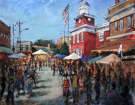 Hot Sauce Festival by Dan Nelson