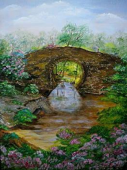 Hot Springs Bridge by Martha Efurd