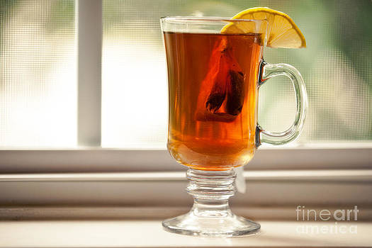 Hot Tea With Lemon by Sharon Dominick
