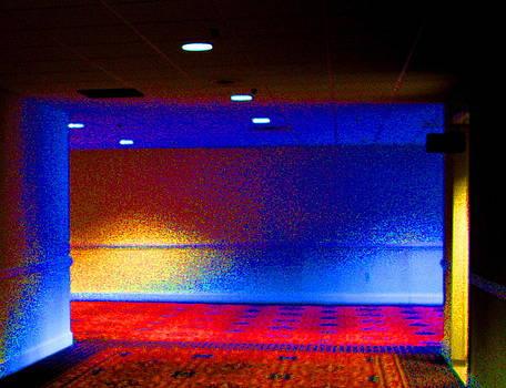 Hotel Corridor by Mike McCool