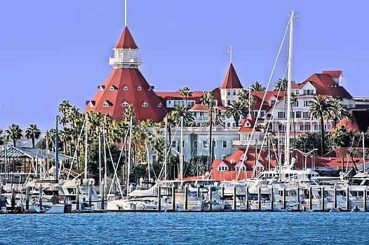 Jane Girardot - Hotel Del Coronado Seaside