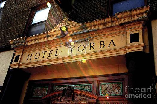 Hotel Yorba Print Two  by Christopher  Chouinard
