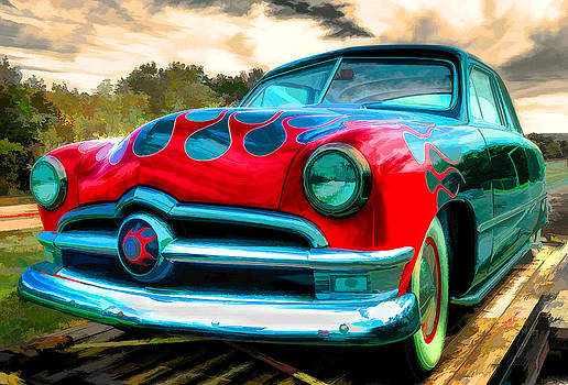 HotRod Flames by Kip Krause