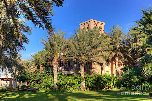 Fototrav Print - House at Madinat Jumeira Dubai