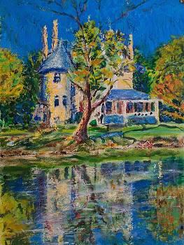 House by the pond by Horacio Prada