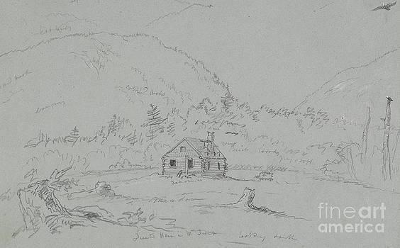 Thomas Cole - House in Mount Desert