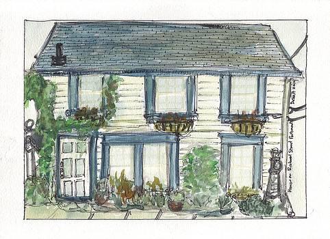 House on Richard Street Portsmouth by David Dossett