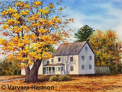 House on Roosevelt Tr. in Windham by Varvara Harmon