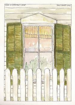House on Sharman's Lane by David Dossett