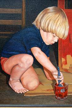AnnaJo Vahle - House painting