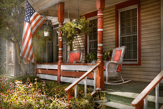 Mike Savad - House - Porch - Traditional American