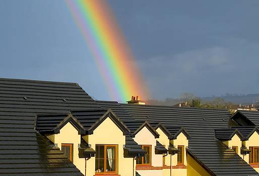 House under the rainbow by Beata Dagiel