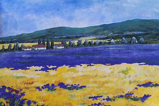 Guy Shultz - Houses by the Lake