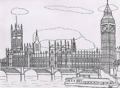 Houses of Parliament by Bav Patel