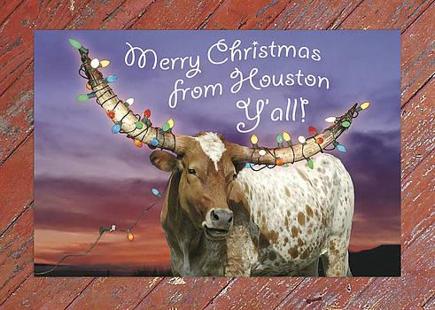Robert Anschutz - Houston Christmas Card