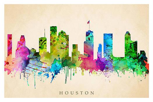 Houston Cityscape by Steve Will