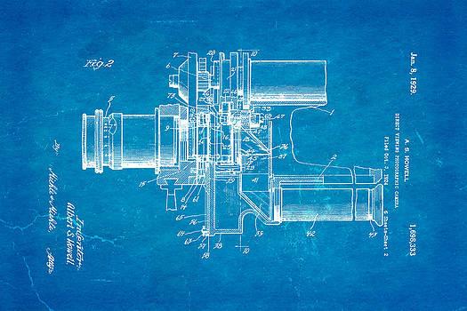Ian Monk - Howell Direct Viewing Camera 2 Patent Art 1929 Blueprint