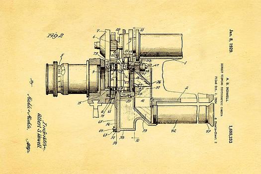 Ian Monk - Howell Direct Viewing Camera 2 Patent Art 1929