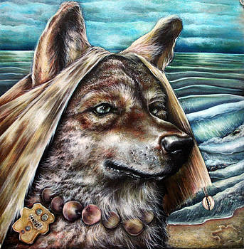 Howl At The Surf by Robert  Nelson