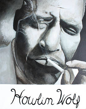 Howlin Wolf by Patrick Kelly