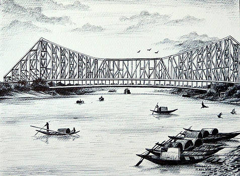 Howrah Bridge - Kolkata by Somaditya Das