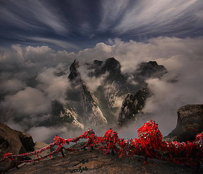 Hua shan or mount Hua by Weerapong Chaipuck