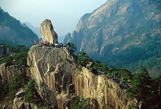 Dennis Cox - Huangshan rock
