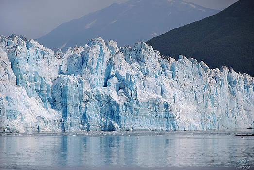Hubbard Glacier by Kenneth Hadlock