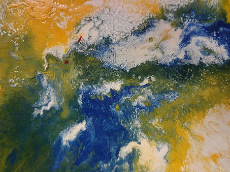 Space Image Of Planet Earth By Suys by Jean-francois Suys