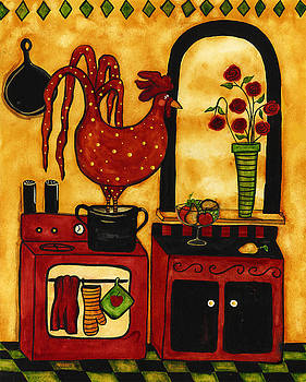 Reds In Hot Water by Debi Hubbs