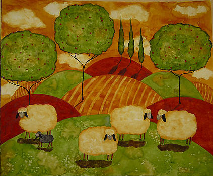 Sheepies by Debi Hubbs