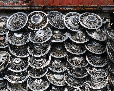 Hubcaps by Selwa Baroody