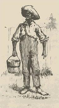 Huckleberry Finn Illustration by