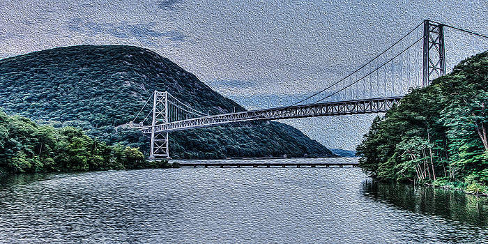 David Hahn - Hudson Highland Suspension Bridge